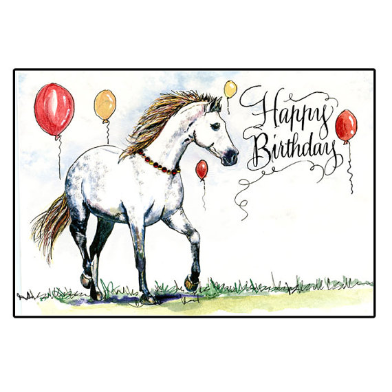 Happy Birthday Horses