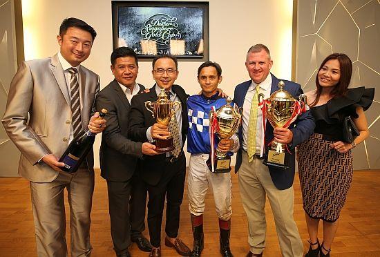 Mark Walker Wins Grp 1 Singapore Gold Cup