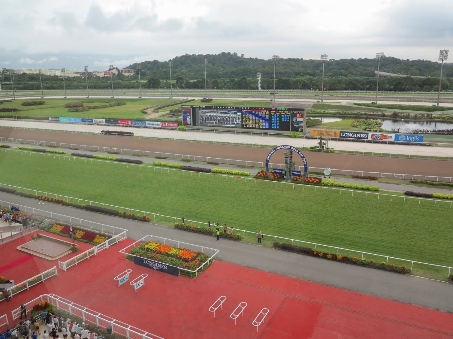 Te Akau Singapore Trackwork Update
